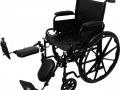 K1 Wheelchair, Elevated Leg Rests WC11616DE, WC11816DE, WC12016DE DME, Mobility ProBasics